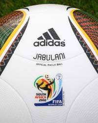 adidas Jabulani Official 2010 World Cup Match Ball (adidas)