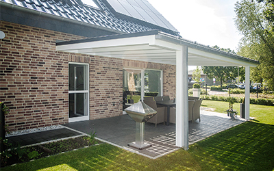solar terrace roof shading