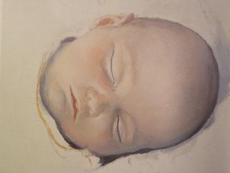 """Actualidad:Exposición de Antonio López en el Museo Thyssen hasta Sept2011 (Madrid) Bella imagen de """"Camen durmiendo"""" 1999-Óleo sobre lienzo"""