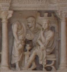 Detalle de Jesús ante Pilatos
