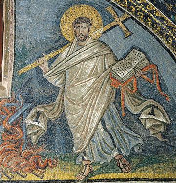 Mosaico de Gala Placidia, Rávena. S V