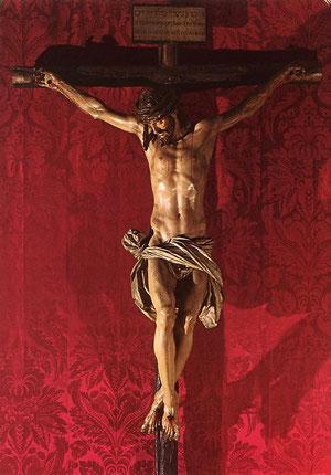 Cristo de la Clemencia.Martínez Montañés
