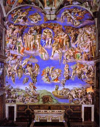 Juicio Final. Miguel Angel.1537-1541