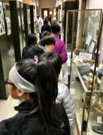 Visitors at the Herbarium