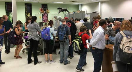 Visitors at the Triplehorn Insect Collection