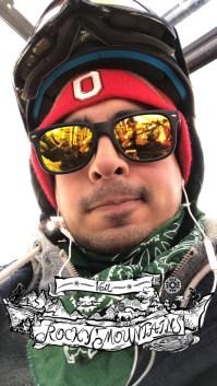 Orlando enjoying a ski trip at Keystone, Colorado.