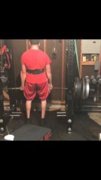 Ruiz is an avid weight-lifter.