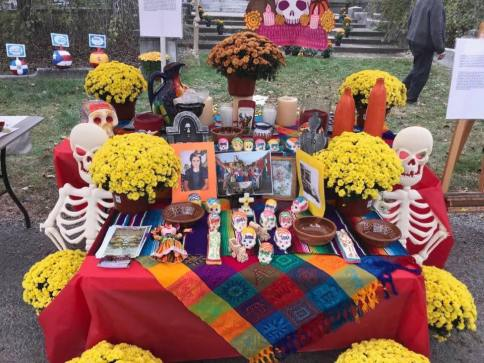 "An ""ofrenda"" or offering from the Day of the Dead Celebration. (Photo courtesy Latino Arts for Humanity)"