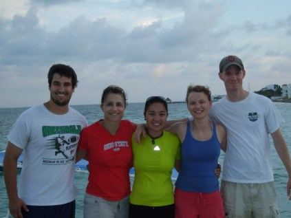 Mexico team (Stephen, Andrea, Teresa, Verena, Justin)