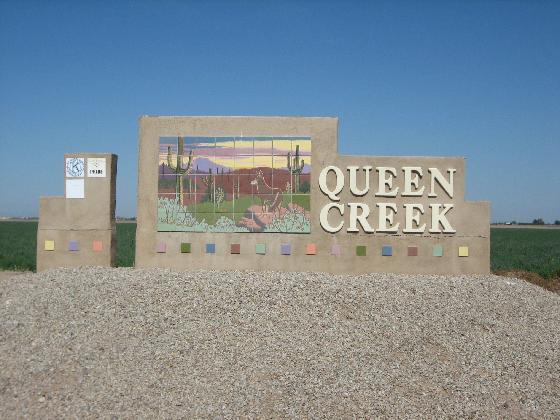 Town Queen Creek Az