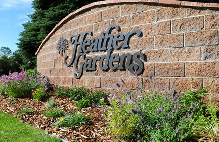 heather gardens 55 community in