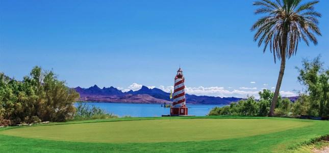 Island Golf course at Lake Havasu