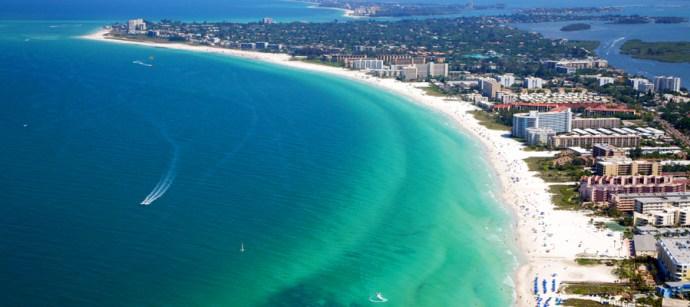 morar na flórida - cidades da Flórida - siesta key florida