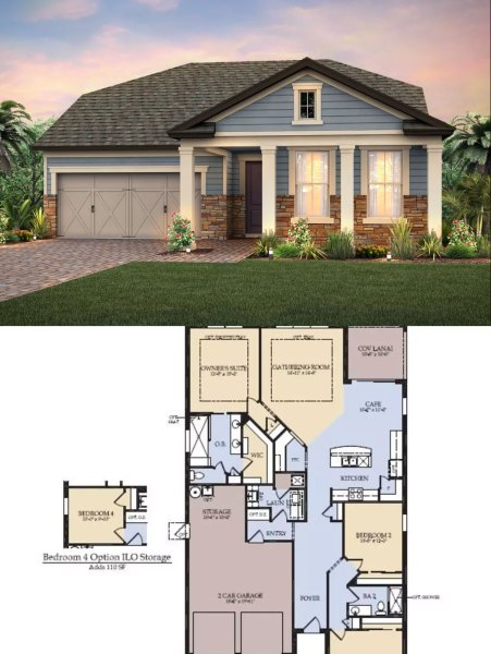 Epperson Ranch Floor Plans  Pulte Homes in Epperson  Wesley Chapel  FL Epperson Ranch Floor Plans