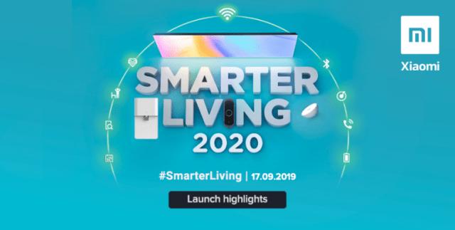 Xiaomi dévoile ses nouveaux modèles TV 4K en Inde #SmartLiving2020