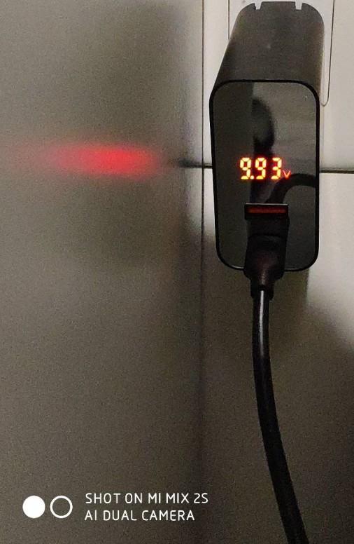 Retour sur le Chargeur Rapide Baseus 45W