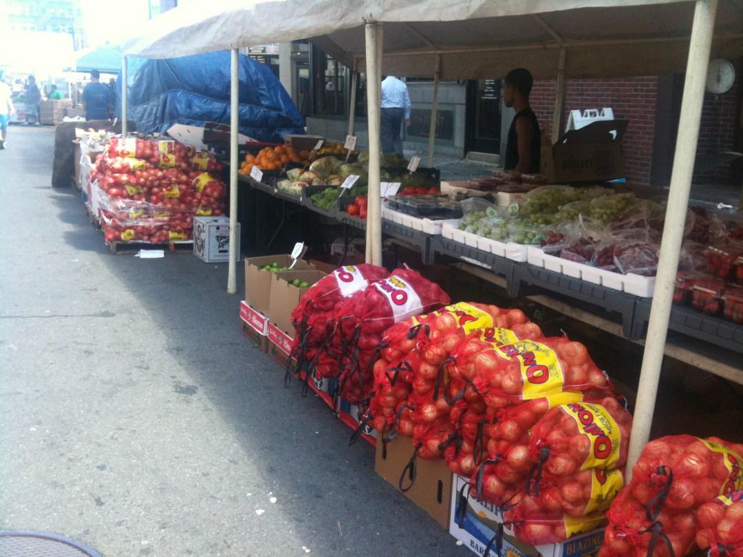 Farmers' Market, Boston