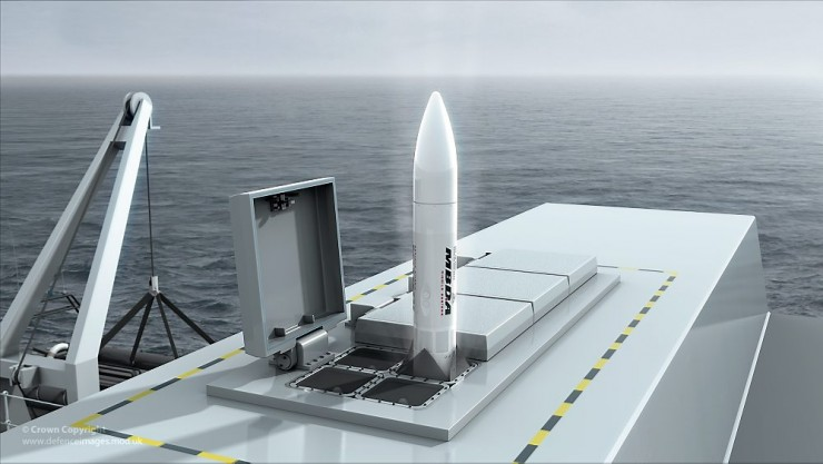 Sea Septor Missile Graphic (FLAADS(M))