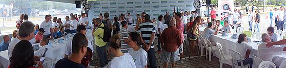 Prefeitura no Bairro recebeu demandas por ciclovias em Florianópolis.