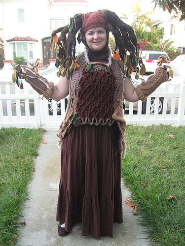 Tree Costume, front