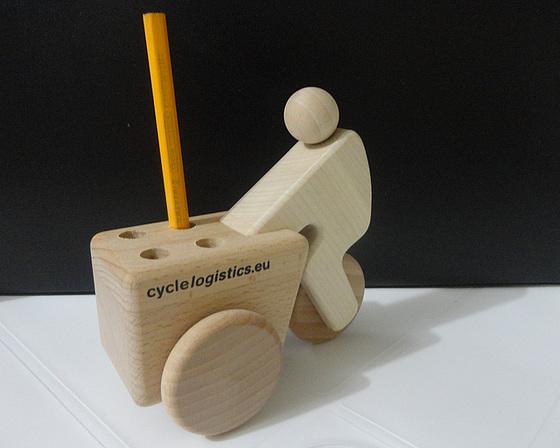 Cargobike presenteada por Ton Daggers para o Bicicleta na Rua pelo trabalho em prol da mobilidade ciclística. Foto: Fabiano Faga Pacheco.