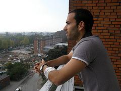 Fabio Morena im Krankenhaus