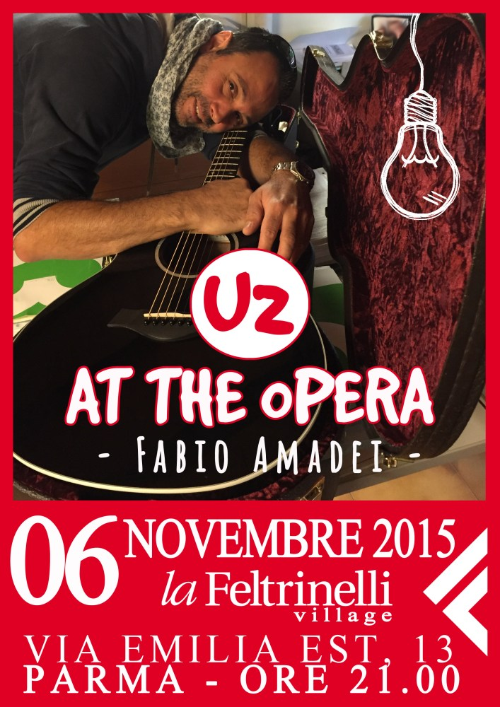 U2 at the Opera live in Feltrinelli