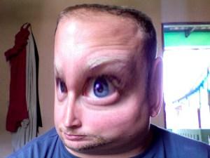 I don't just feel strange, I also look strange!