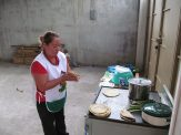 making the first baleada