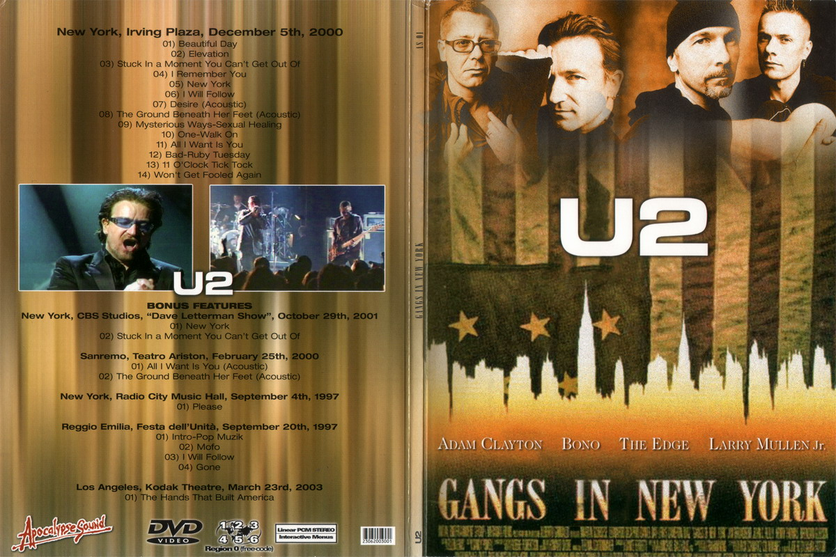 Elevation Tour U2 Therapy