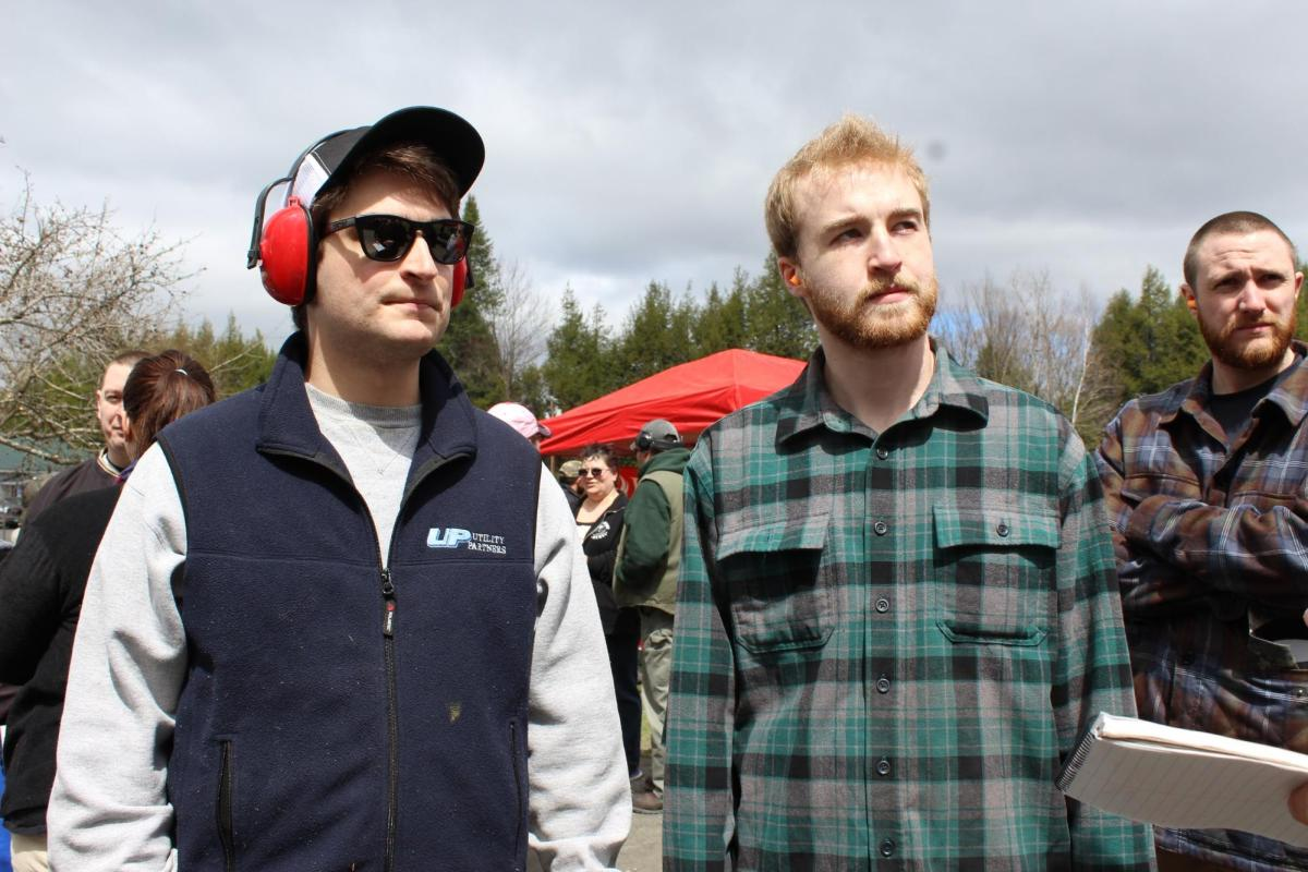 U-32 Alumni: Nate Singleton, left, and Glen Rogers.