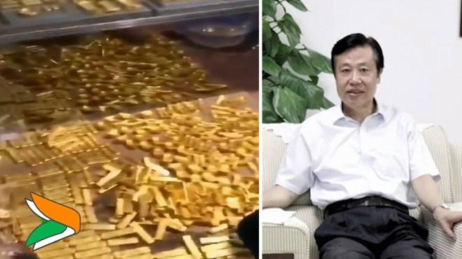 В Китае у мэра Гуанчжоу изъяли 13 тонн золота
