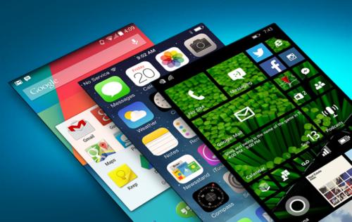 Apple, Android, Windows