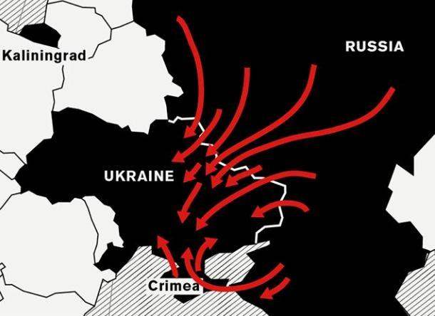 У 2015 році Україну може чекати обвал гривні до 45 грн за долар, інфляція на рівні 100%, відсутність міжнародної фінансової допомоги, повний хаос і вторгнення Росії