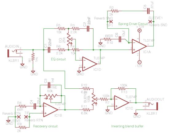 tombola's spring reverb circuit