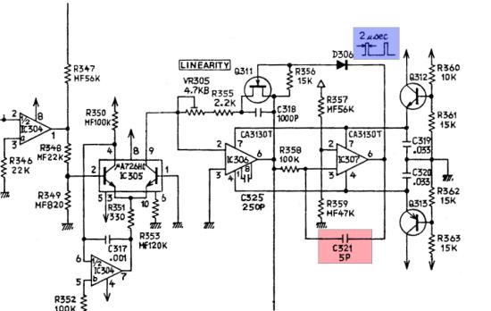 Roland SH-1 VCO core