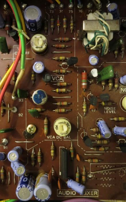 System 100 VCA circuitboard
