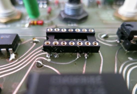 Installing a socket