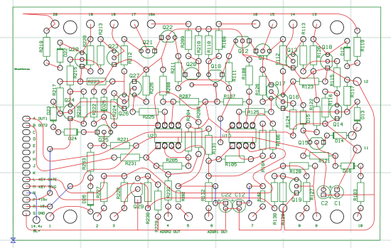 Laying out the circuit in Osmond PCB