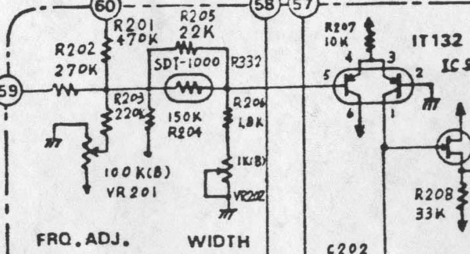 Roland System 700 706 Lfo Clone Pcb