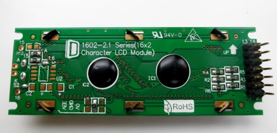 Quadraverb replacement screen - back