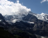 To Jungfraujoch, top of Europe
