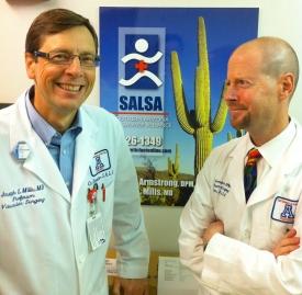 SALSA co-directors Joseph Mills and David Armstrong.