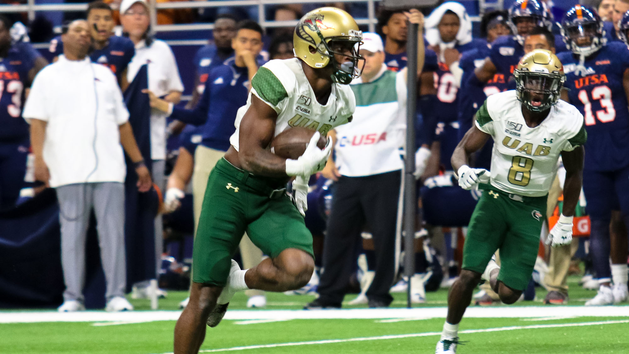 UAB Leads Wire-to-Wire in 33-14 Victory at UTSA - University of Alabama at  Birmingham Athletics