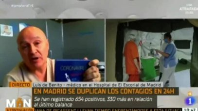 URGENTE! EL VIDEO QUE ESTAN CENSURANDO DEL MEDICO QUE DESMONTA EL COVID EN TVE1