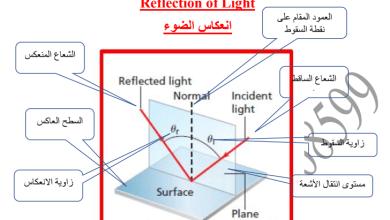 Photo of فيزياء  انعكاس الضوء الصف العاشر الفصل الثاني 2017-2018