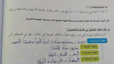 Photo of حل درس قطار المستقبل لغة عربية صف أول فصل ثاني