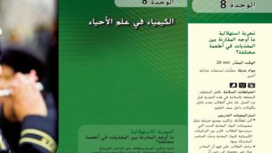 Photo of دليل المعلم الكيمياء في علم الأحياء الوحدة 8 الفصل الثالث صف ثاني عشر