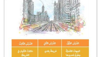 Photo of صف ثالث فصل ثاني دراسات اجتماعية مراجعة الوحدة الثالثة الجهات وطرائق استخدامها
