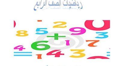 Photo of صف رابع فصل ثاني رياضيات  مذكرة الأنماط والمتتاليات